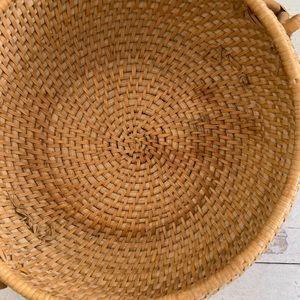 Vintage Accents - Vintage Boho Storage Basket
